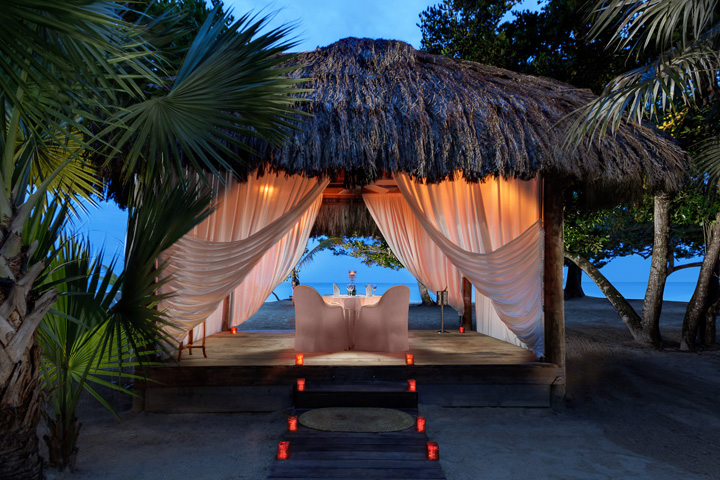 Private Candlelight Beach or Garden Dinner